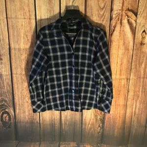 Foxcropt checkered shape fit